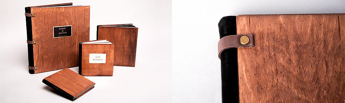 Деревянная обложка - фотокниги Софи